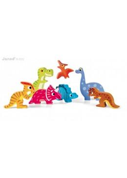 Układanka 3D Dinozaury, Janod