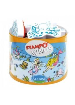 Stempelki Syrenki Stampominos, Aladine