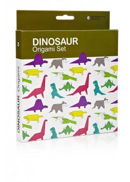 Dinozaury, zestaw origami