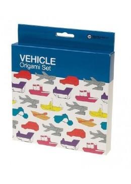 Pojazdy, Zestaw origami, NPW