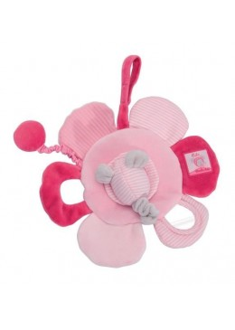 Zabawka dzwiękowa kwiat Lila, Moulin Roty