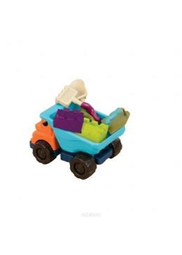 Ciężarówka z akcesoriami do piasku, B.Toys