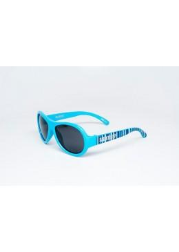 Okulary przeciwsłoneczne z Polaryzacją, Niebieski Pas r. 3-7 lat, Babiators