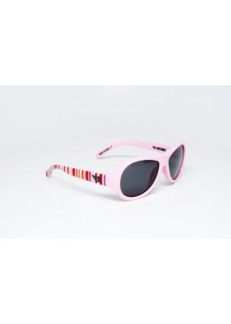 Okulary przeciwsłoneczne z Polaryzacją, Tęczowy Róż r. 0-3 lat, Babiators