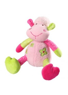 Zabawka welurowa z grzechotką Owieczka mała, Baby Ono
