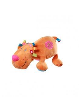 Zabawka welurowa z grzechotką Lew duży, Baby Ono