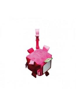 Stars Kostka wielofunkcyjna z Metkami, Pink/Fuchsia, Label Label