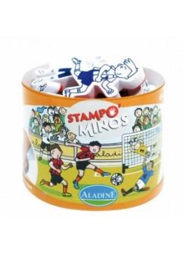 Stempelki Piłka nożna Stampominos, Aladine
