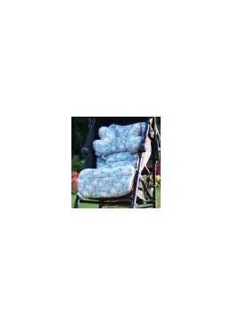 Wkładka do wózka,In the Magnolia Garden, Dusty rose, Lela Blanc