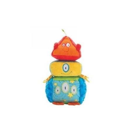 Miękkie Klocki Do Układania Piramidka, Manhattan Toy