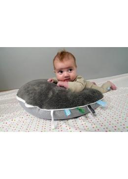 Poduszka do karmienia szara, Snoozebaby