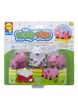 Zabawki do Kąpieli - Umyj Świnki, Alex Toys