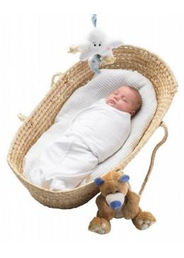 Otulacz dla noworodka, niebieski, Mum2Mum