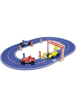 Tor wyścigowy z samochodzikami, Vilac