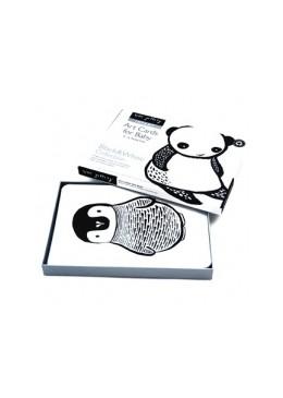 Karty dla dzieci- Kolekcja Black & White, Wee Gallery