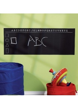 Naklejki Tablica Kredowa Alfabet, Wallies