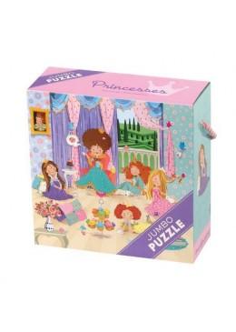 Księżniczka, puzzle Jumbo, 25 elementów, Mudpuppy