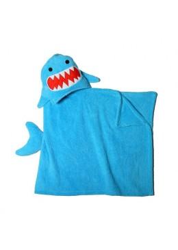Rekin, ręcznik z kapturem, Zoocchini