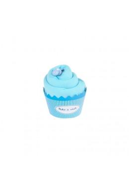 Baby Cupcake turkusowy Body dziecięce krótki rękaw, turkusowe, 3-6m, Cotton & Sweets