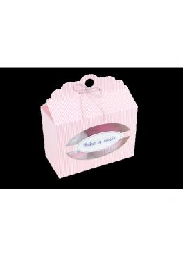 Baby Cupcake różowy Body dziecięce podwójny krótki rękaw, białe i fuksja 0-3m, Cotton & Sweets
