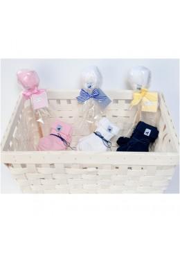 Baby Cake Pop różowy skarpetki 15/17 cm, Cotton & Sweets