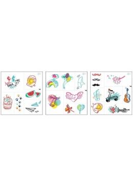 Zmywalne tatuaże dla dzieci, Letnie inspiracje, Zuzu Toys