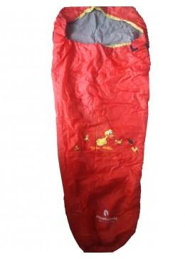 Śpiwór dla dziecka czerwony, Royalbeach