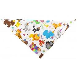 Chustka trójkątna na lato Happy Birthday