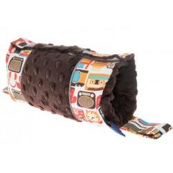 Osłonka Carry Pad CuddlyZoo Retro Gadżet Dziadka Zenka, Chocolate