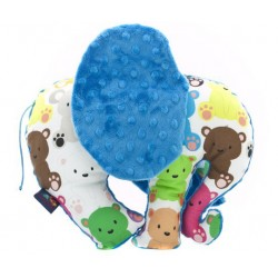 Zabawka Słoń Kolorowe Misiaczki, Azure