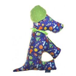Zabawka Pies Kosmos, Dark Lime