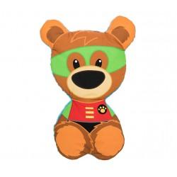 Dwustronna, płaska poduszka Superhero Mr. Honey, Red