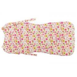 Wkładka do wózka Cuddly Cover Księżniczki, Raspberry