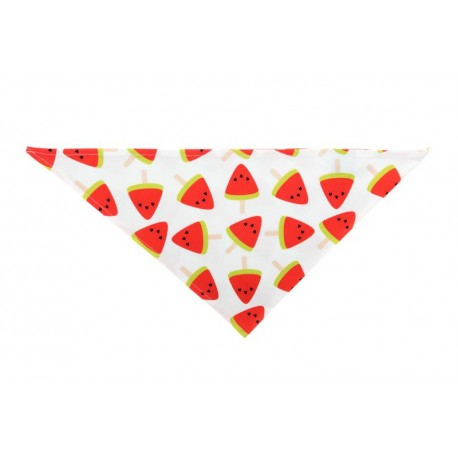 Chustka trójkątna na lato Arbuzy