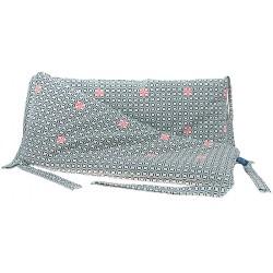 Ochraniacz na szczebelki do łóżeczka Black & White