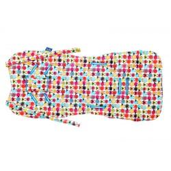 Wkładka do wózka Cuddly Cover, Owieczki, Azure