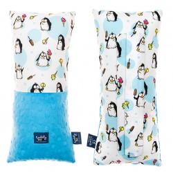 Poduszka na pasy bezpieczeństwa Pingwiny Azure