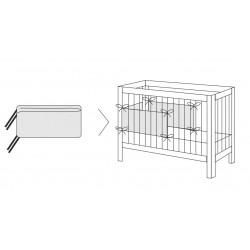 Ochraniacz na szczebelki do łóżeczka Arbuzy