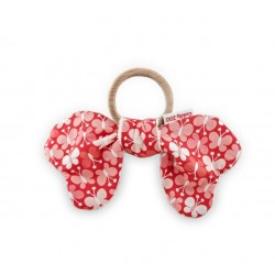 Gryzak Butterfly Motylki Red